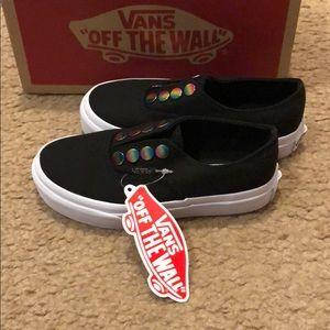 0ee8c2f1b9fcf5 Vans Shoes - Rainbow Eyelet Authentic Gore Vans